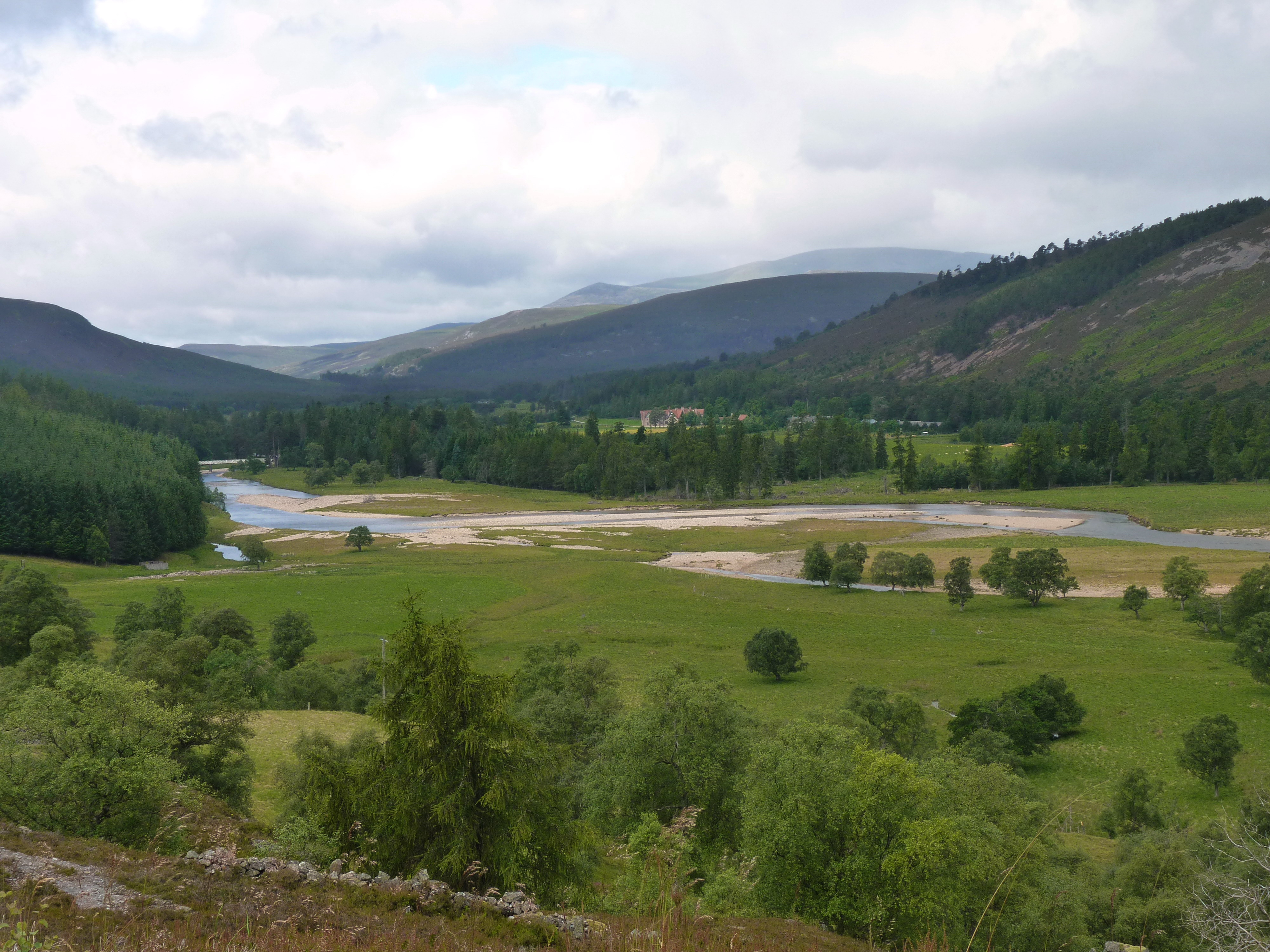 Upper Dee Valley and Mar Lodge